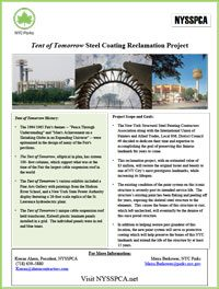 Tent of Tomorrow Steel Coating Reclamation